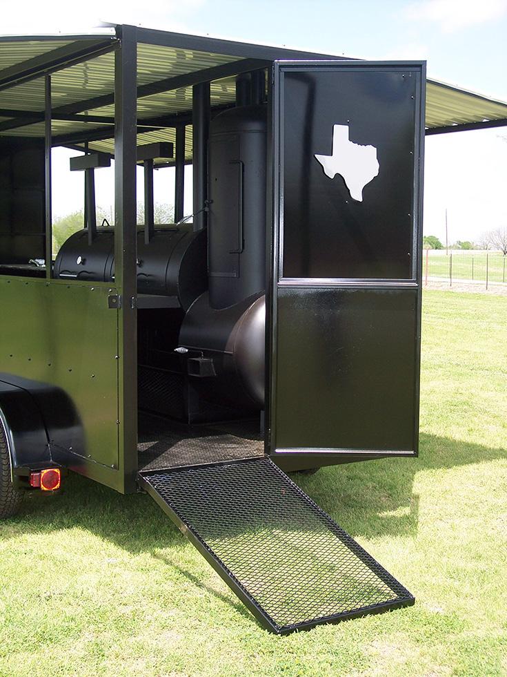18 Ft Enclosed Trailer Johnson Custom Bbq Smokers