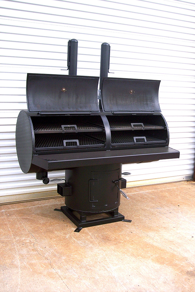 24 T Pit Johnson Custom Bbq Smokers