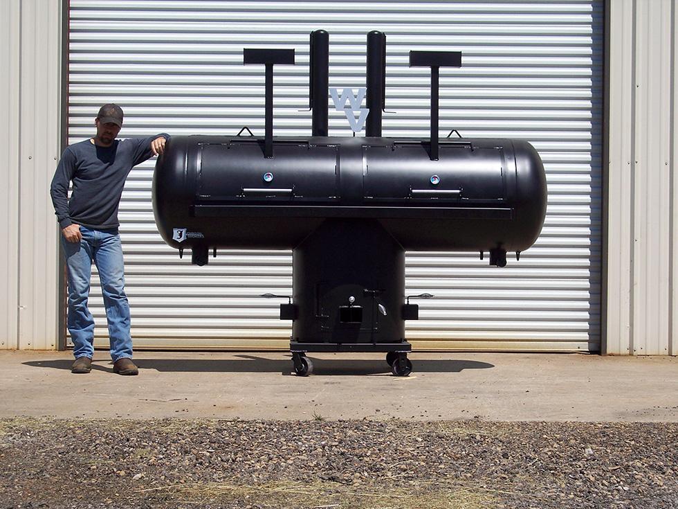 30 T Pit Johnson Custom Bbq Smokers