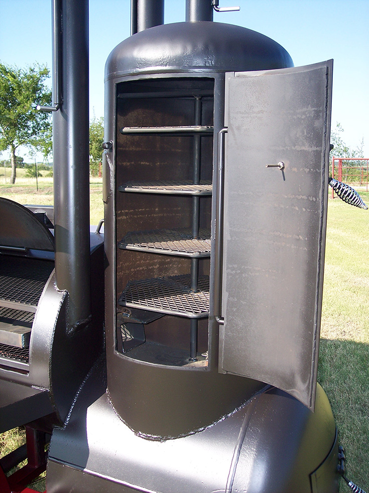 Med Adv 10 Ft Johnson Custom Bbq Smokers