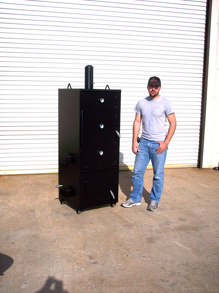Vertical Smoker Johnson Custom Bbq Smokers