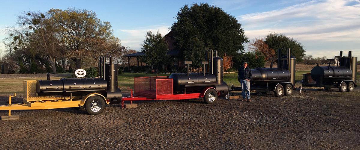 custom texas bbq smokers grills u0026 pits